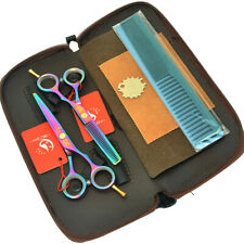 5.5inch Hairdressing Scissors Set/Kit Hair Cutting Thinning Shears Barber Tools