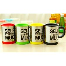 Stainless Steel Electric Self Stirring Double Insulated Mug Milk Tea Cup PICK
