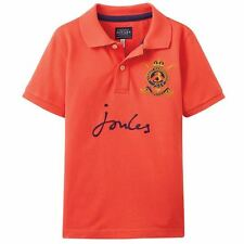 Joules Childrens Harry Polo Shirt Boys Equestrian Collar Tee Short Sleeve
