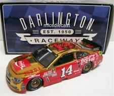 Gen 6 2016 Tony Stewart #14 Chrome Darlington Coke Retro Allison Platinum 1:24