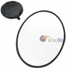 110/80/60cm Handheld Translucent Collapsible Flash Light Disc Photo Reflector
