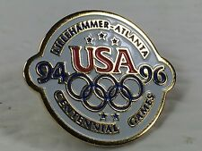 Olympic Pin Badge Centennial Games 1996 Atlanta Lillehammer