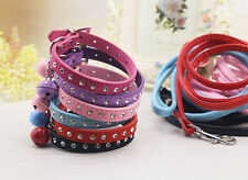 Dog Collar Leash Led Set Puppy Cat Pet Collar Necklace Chihuahua yorkie maltese