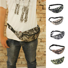 Fanny Pack Travel Waist Camouflage Money Belt Denim Pouch Wallet Bum Bag HOT