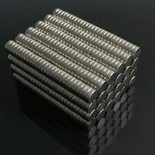 100/200Pcs 4 x 1mm Super Strong N50 Round Disc Neodymium Rare-Earth Magnets HOT