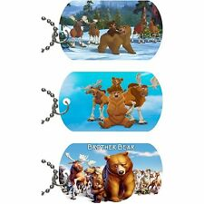 Brother Bear Necklace Pendant Dog Tag w/Chain