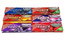 Juicy Jay's Flavored Ciggarette Rolling Papers Mix n Match 3 packs 1 1/4 - 32 ea