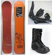 "NEW VENUE ""CORAL"" SNOWBOARD, BINDINGS, BOOTS PACKAGE - Women's - 153cm"