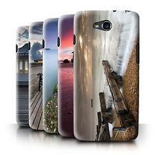 STUFF4 Phone Case/Back Cover for LG L90/D405 /English Seaside