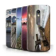 STUFF4 Phone Case/Back Cover for Motorola Moto X Play 2015 /English Seaside