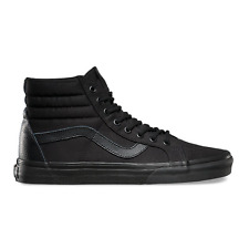 VANS SK8-HI REISSUE MONO T & L BLACK MENS CASUAL SKATE SHOES SNEAKERS CLEARANCE