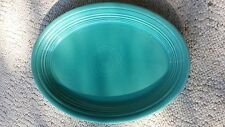 """Homer Laughlin FIESTAWARE 13 1/2"""" x 9 1/2"""" Turquoise Platter NR MINT CONDITION!"""