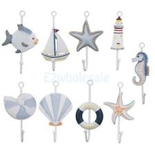 Nautical Wall Door Hanging Clothes Hook Rack Bathroom Towel Hanger Holder Decor