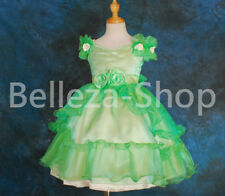 50% OFF Organza Flower Girls Occasion Dress Wedding Party Pageant Sz 2T-12 FG068