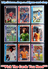 ☆ Topps 1979 Pale Blue Footballers - 1 to 396 (G/F) *Pick The Cards You Need*