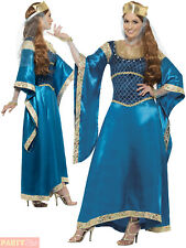 Ladies Maid Marion Costume Adults Medieval Fancy Dress Womens Robin Hood Outfit