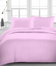 Pink Stripe 100% Egyptian Cotton 1000 TC 35 Cm Drop 6 PCs Sheet Set