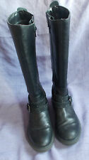 GEOX Long Leather Boots, Good Condition, UK2