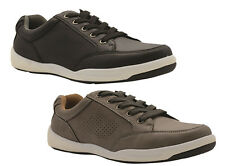 Mens Shoes Grosby Addison Black or Taupe Lace Up Skate Shoe Size 6-12 Sneaker