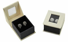 Luxury Dubai Series Earring Cardboard Hinged Jewellery Gift / Presentation Boxes