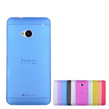 New Ultra Thin Slim 0.3mm Crystal Clear PP Soft Case Cover Skin for HTC One M7
