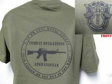 SPECIAL FORCES T-SHIRT/ AFGHANISTAN COMBAT OPERATIONS