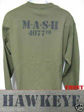 M*A*S*H LONG SLEEVE T-SHIRT/ NEW/ MILITARY/ ARMY