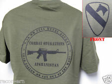 AIR CAV T-SHIRT/ ARMY T-SHIRT/ AFGHANISTAN COMBAT OPS