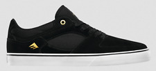 EMERICA THE HSU LOW VULC BLACK WHITE MENS CASUAL SKATE SHOE FREE POST AUSTRALIA