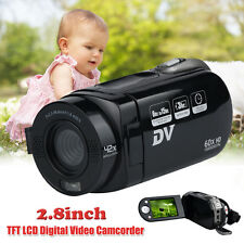 2.8 inch 720P 16X Digital Zoom Video Camcorder With 270 Degree Rotation Screen