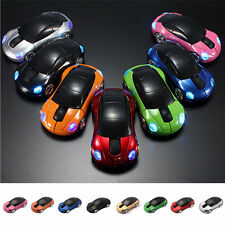 For Laptop PC Car Shape 1000DPI 4GHz Wireless 2.Optical Mouse Mice+USB Receiver