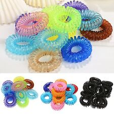 Girl Rope Elastic Rubber Hair Ties Hair Bands Bobbles Ponytail Holders W3LE