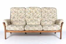 Ercol Sofa Settee 3 Seater Studio Couch 1 of 2 Golden Dawn