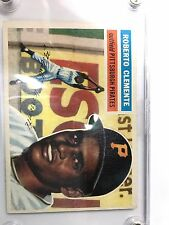 1956 Topps Roberto Clemente Pittsburgh Pirates #33 Baseball Card NM