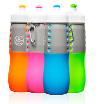 BPA Free 20oz Portable Travel Cup Foldable Collapsible Silicone Water Bottle