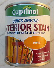 Cuprinol Quick Dry INTERIOR  STAIN  250ml  cans  varIous colours  WATER BASED