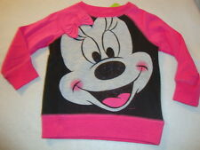 DISNEY  MINNIE MOUSE GRAPHIC long sleeved SHIRT NWTS
