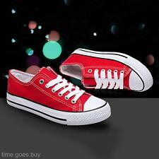 2016 Women's Lady Low Top Casual Athletic Sports Shoes Canvas Sneakers Trainers