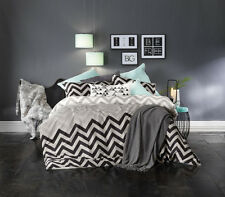 Chester Grey Quilt Cover Set by Bianca Double | Queen | King | Super King