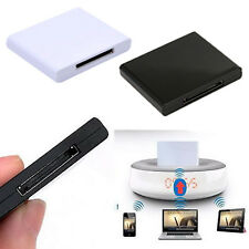 Bluetooth 4.0 Music Receiver Audio Adapter for iPod iPhone 30Pin Dock Speaker