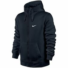 MEN'S NIKE CLUB SWOOSH FULL ZIP FLEECE HOODIE *611456 - 473* SIZE -  SMALL *NWT*