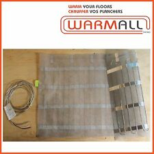 """Warm All Electric Floor Heating Mat 42"""" Wide - 240 Volts"""