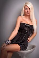 Party Club Wear Modern Stylish Sequins Dress UK size 8-10 Colours Available