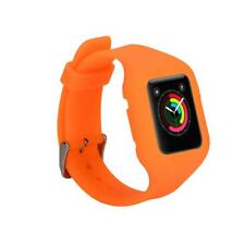 Replacement Silicone Rubber Smart Watch Band Sport Strap for Apple Watch 42mm