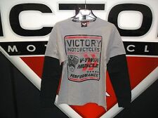 Victory Men's XL Long sleeve V-Twin 2 in 1 t-shirt MP#286630009
