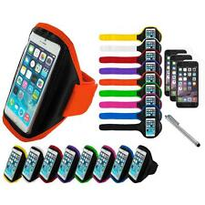 For Apple iPhone 6 (4.7) Armband Arm Band Case+3X Screen Protector+Pen