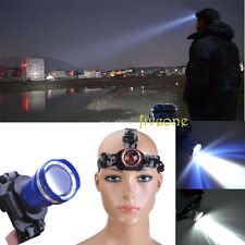 800LM CREE Q5 LED Zoomable Head Lamp Headlight Torch Camping Flashlight Gift