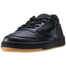 Reebok Club C 85 Diamond Womens Trainers Black Gum New Shoes