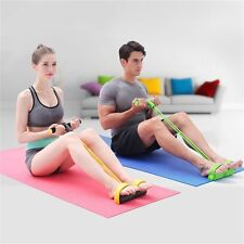Resistance Band Rope Tube Elastic Exercise Equipment for Yoga Pilates Workout MP