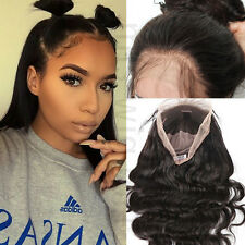 7A Brazilian Virgin Lace Front Human Hair Wig Body Wave 130% Density Full Wig A2